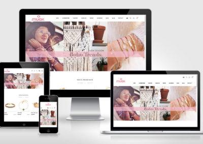 muak.ch : bohemian style e-shop